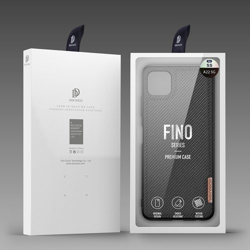 Husa Samsung A22 5g Fino case covered with nylon material [1]