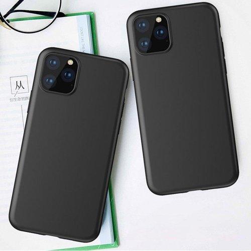 Husa Samsung A02s Versiune EU, Soft Case TPU gel protective Black [1]
