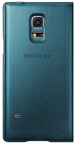 Husa Flip Samsung Cover S-View EF-CG800BG for Galaxy S5 Mini SM-G800, EF-CG800BGEGWW - Green 1