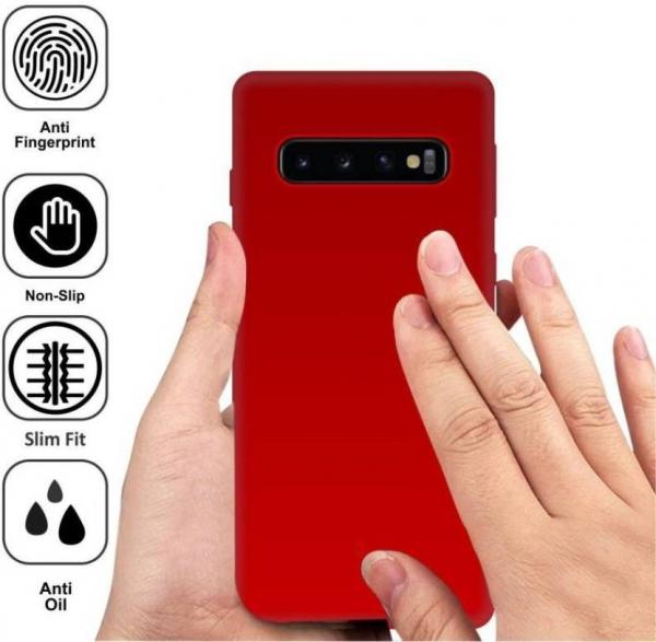 Husa Silicon Premium Pentru Samsung S10 Plus 2