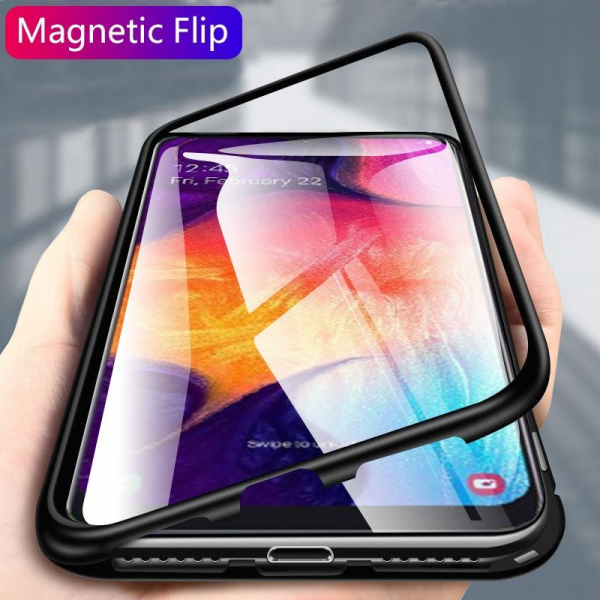 Husa magnetica Samsung A50, Protectie 360