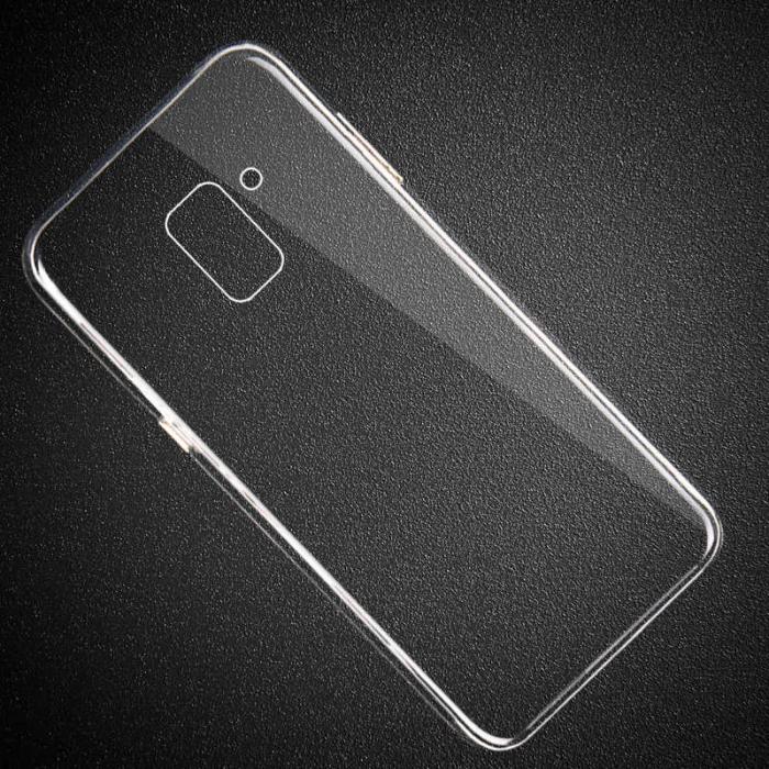 Husa silicon TPU pentru Samsung J6+ 2018, J610 , Transparent 0