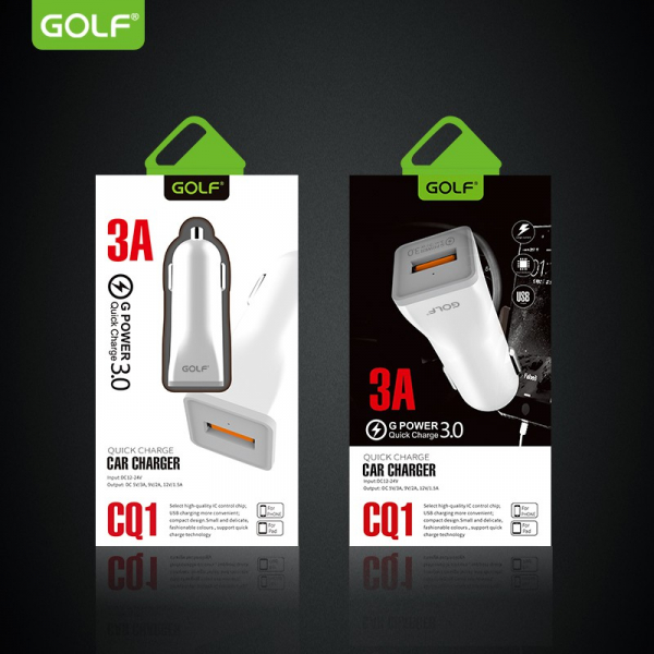 Incarcator auto Golf QuickCharge 3.0 2
