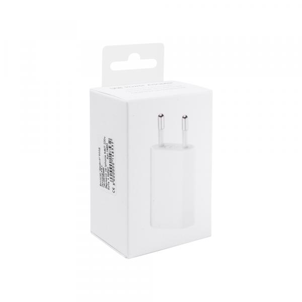Incarcator retea cu cablu iPhone Lighting  5V / 1A 220V 0