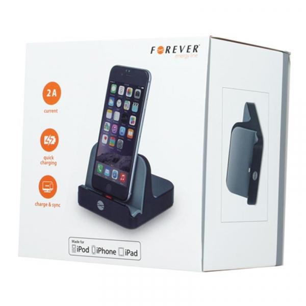 Docking Station pentru iPhone, Forever PDS-02 [1]