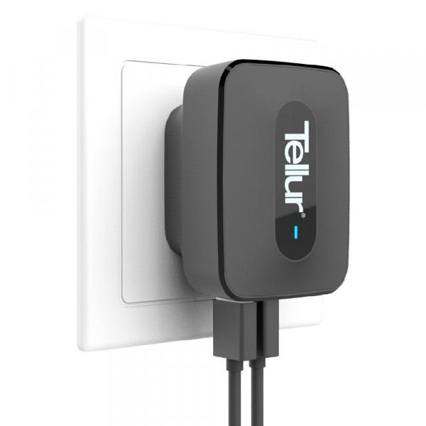 Incarcator retea 3 usb, QuickCharge  QC 3.0 – 3 USB ports 5A (1 x QC 3.0 & 2 x USB) 0