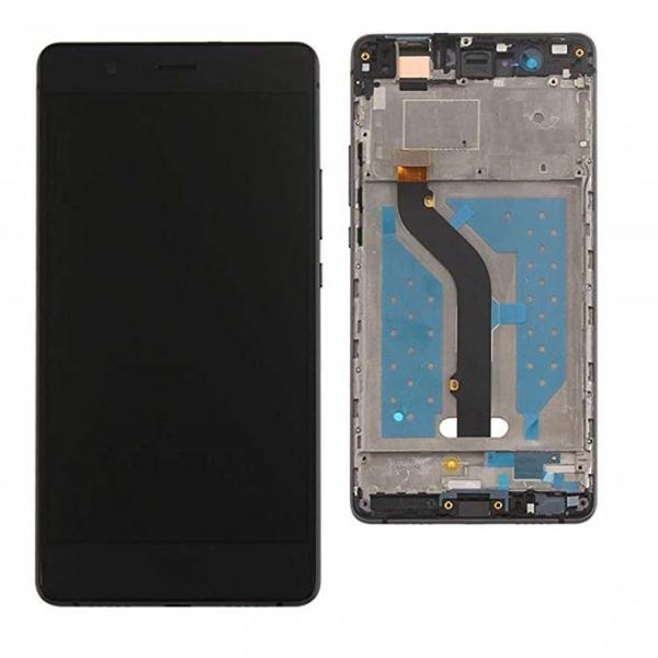 Ecran Display cu rama Huawei P9 Lite Negru, VNS-L21, VNS-L31 [0]