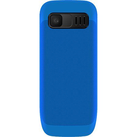 Telefon mobil Maxcom Classic MM135, Dual SIM, Black/Blue Cadou cartela cu minute si internet [2]