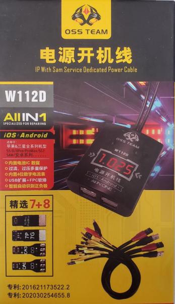 Cabluri sursa iPhone + Android OSS TEAM W112D 0