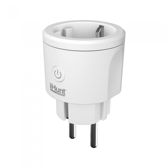 Priza inteligenta iHunt Smart Plug Meter WIFI Alb [2]