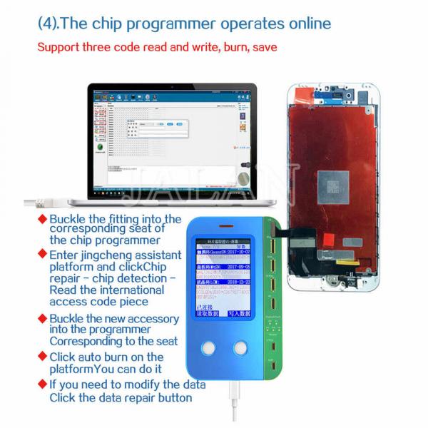 Programator eeprom display iPhone pentru problema senzor lumina, vibrator, baseband Chip 2