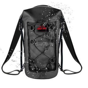 OUTXE IPX7 100% Waterproof TPU 10L Backpack Black, impermeabil 0