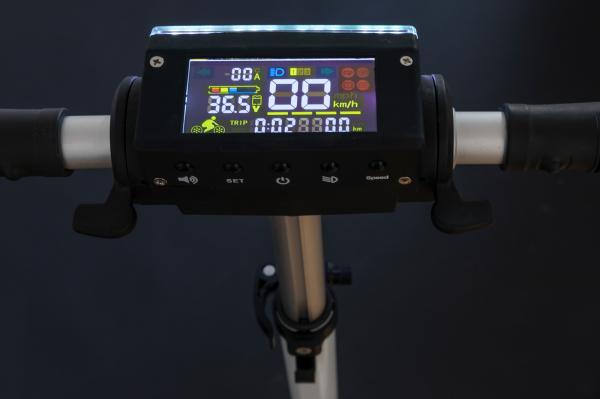 Trotineta electrica Sparky Boost, 350W, Autonomie 25-30km, Viteză maximă 30km/h Alba 6