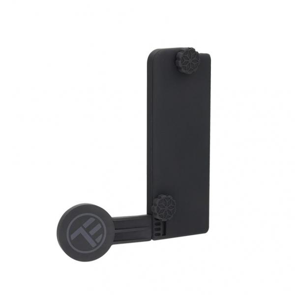 Suport magnetic de telefon pentru ecran laptop Tellur MDM, Negru 0