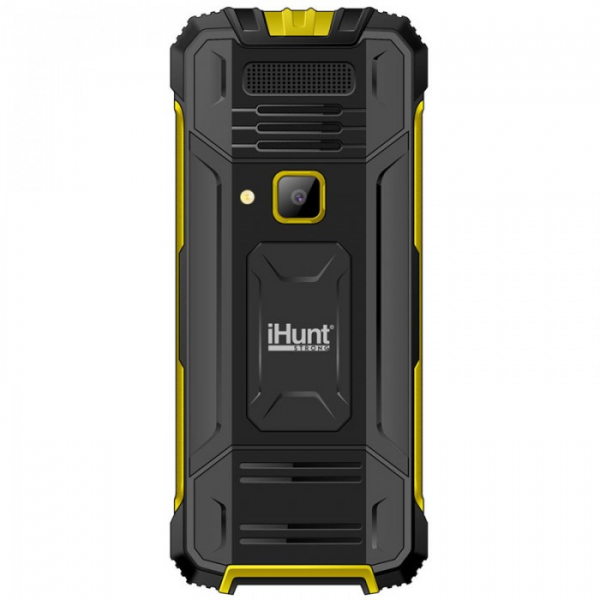 Telefon Mobil iHunt i1 3G 2020 Yellow, 3G RDS, telefon 3g cu taste 1