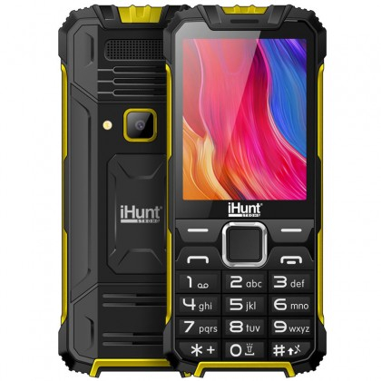 Telefon Mobil iHunt i1 3G 2020 Yellow, 3G RDS, telefon 3g cu taste 0