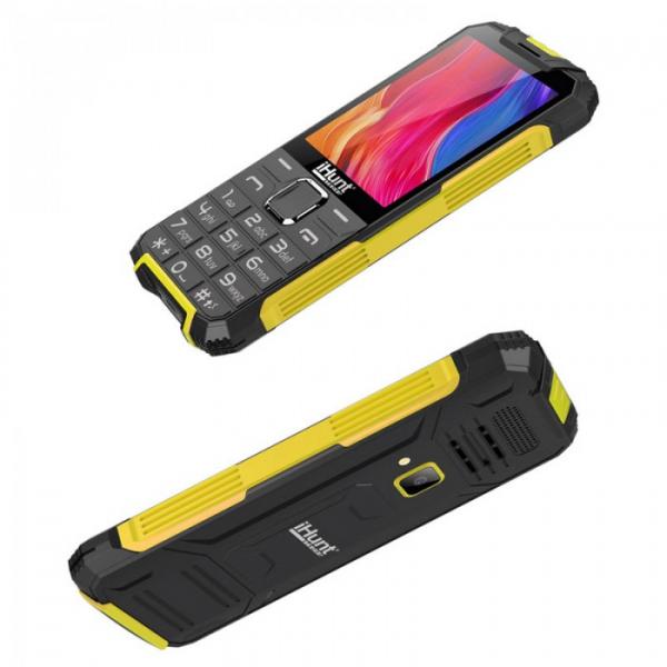 Telefon Mobil iHunt i1 3G 2020 Yellow, 3G RDS, telefon 3g cu taste 2