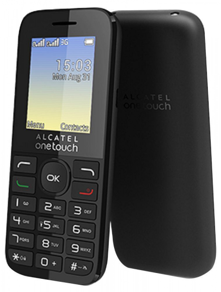 Telefon Mobil 3G Alcatel 20.35 Negru, Digi RDS Digi Mobil 3