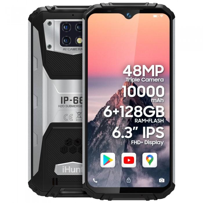 "Telefon Mobil iHunt Titan P13000 PRO 2021, Procesor MediaTek MT6771T Helio P70 Octa Core, Ecran Capacitive touchscn 6.3"", 6GB RAM, 128GB Flash, Camera Tripla 48+5+0.3 MP, Wi-Fi, 4G, Dual Sim, Android [0]"