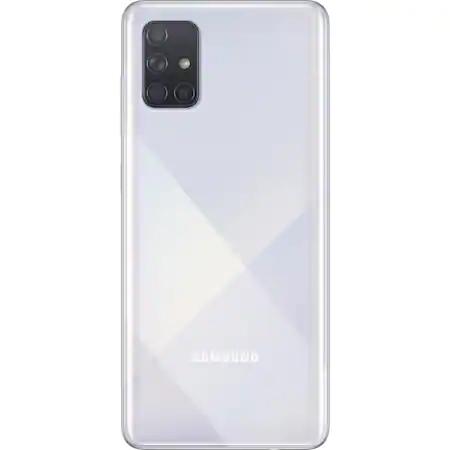 Telefon mobil Samsung Galaxy A71, Dual SIM, 128GB, 6GB RAM, 4G, Silver 1
