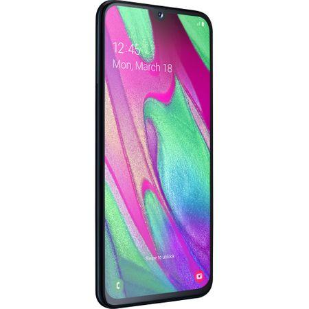 Telefon mobil Samsung Galaxy A40, Dual SIM, 64GB, 4G, Black 1