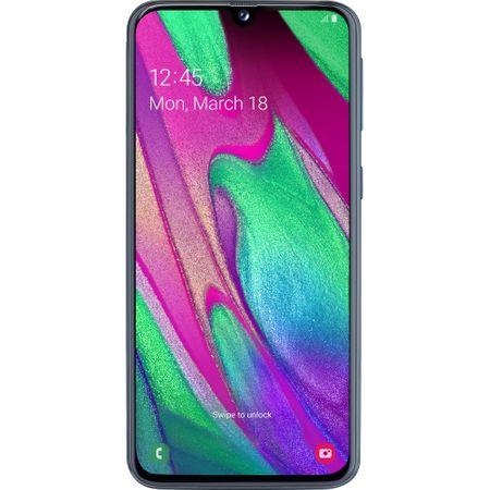 Telefon mobil Samsung Galaxy A40, Dual SIM, 64GB, 4G, Black 0