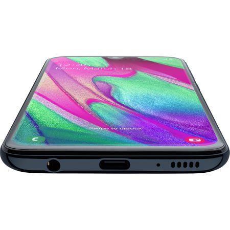 Telefon mobil Samsung Galaxy A40, Dual SIM, 64GB, 4G, Black 2