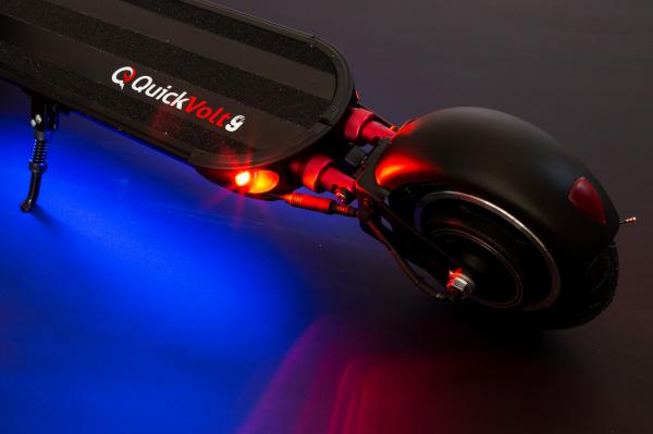 Trotineta electrica QuickVolt 9, Putere motor 600W, Autonomie 35-45km, Viteză maximă 45km/h 7