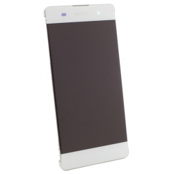 Display cu touchscreen Sony Xperia XA alb, cu rama Original 0