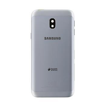 Capac carcasa rama baterie Samsung galaxy J3 2017, j330, Silver () 0