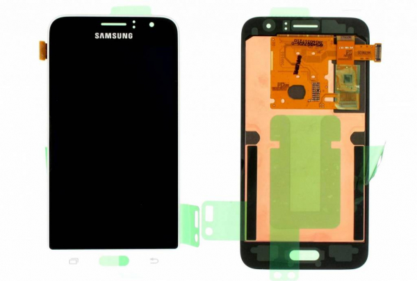 Display cu touchscreen Samsung Galaxy J120 Alb (GH97-18224A) 0