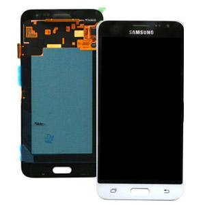 Ecran Display cu touchscreen Samsung Galaxy J320f, J3 2016, Alb 0