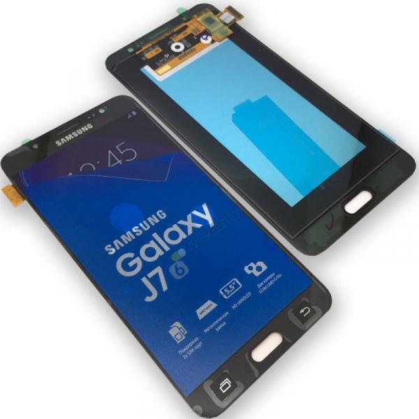 Display cu touchscreen Samsung Galaxy J710f, j7 2016, Negru