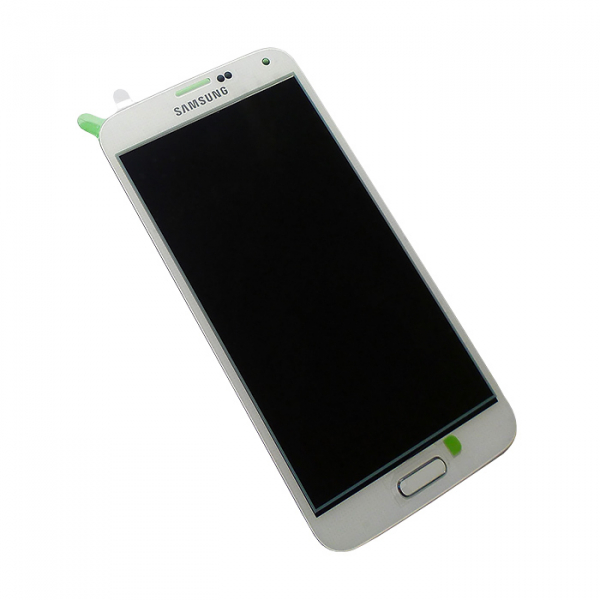 Ecran Display cu touchscreen Samsung Galaxy S5 G900F, G901F, Alb 0