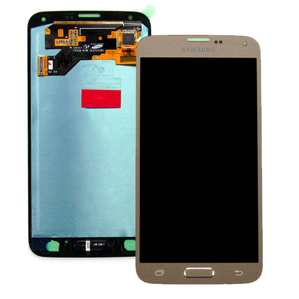 Display cu touchscreen Samsung Galaxy S5 Neo, G903f, Gold 0