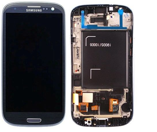 Display cu touchscreen Samsung Galaxy S3 Neo i9301i Blue albastru 0