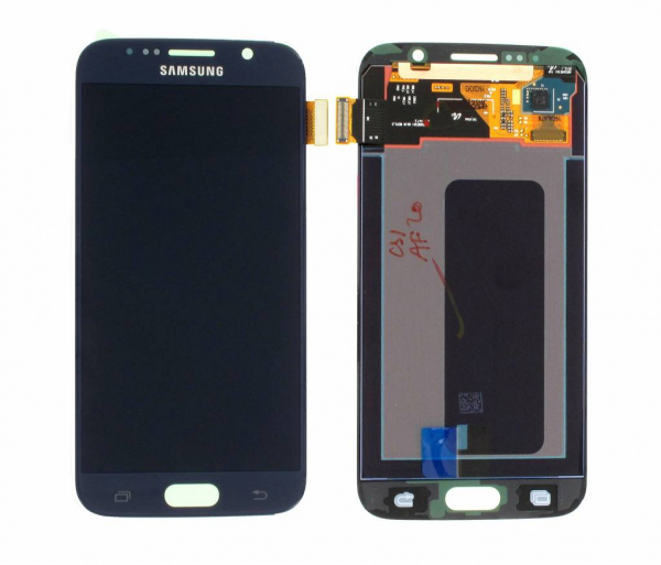 Display cu touchscreen Samsung Galaxy S6 G920f, Negru