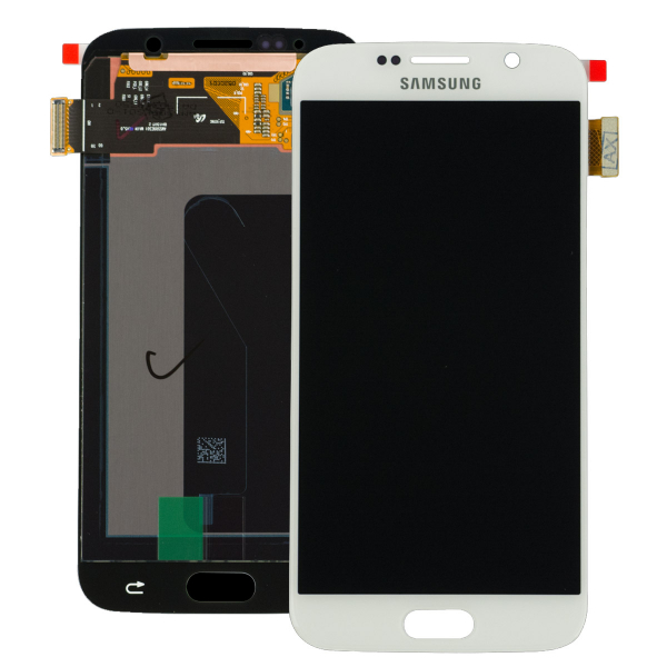 Display cu touchscreen Samsung Galaxy S6 G920f, Alb