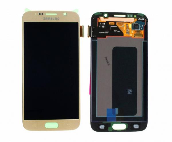 Ecran Display cu touchscreen Samsung Galaxy S6 G920f, Gold 0