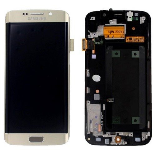 Display cu touchscreen Samsung Galaxy S6 Edge G925f, Gold 0