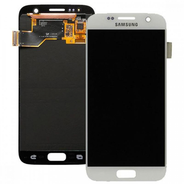 Ecran Display cu touchscreen Samsung Galaxy S7 G930f, Alb 0