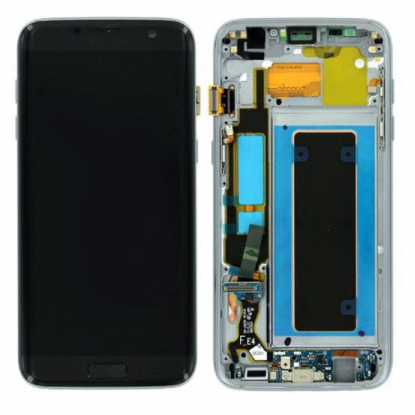 Ecran Display Samsung Galaxy S7 Edge G935f, Negru, Oled Nou 0