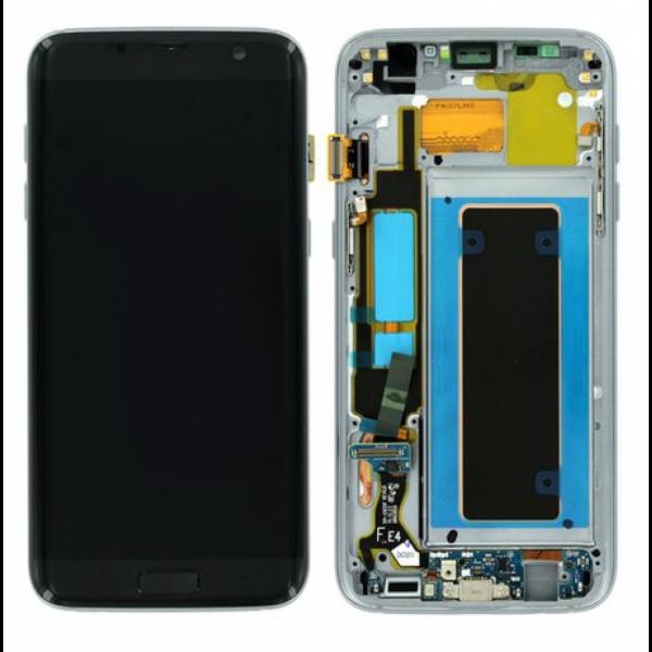 Ecran Display cu touchscreen Samsung Galaxy S7 Edge G935f, Negru, Reconditionat 0