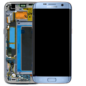 Ecran Display Samsung Galaxy S7 Edge G935f, Blue Coral, Original cu rama 0