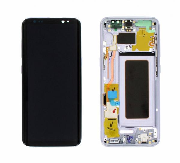 Ecran Display cu rama Samsung Galaxy S8 G950f Orchid Gray Violet [0]