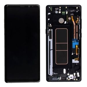 Ecran Display cu touchscreen si rama Samsung Galaxy Note 8 N950 Negru 0