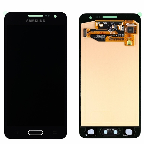Ecran Display cu touchscreen Samsung Galaxy A3 2015 A300f Negru 0