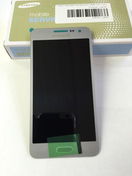 Display cu touchscreen Samsung Galaxy A3 2015 A300f Silver 0