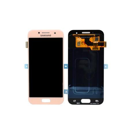 Display cu touchscreen Samsung Galaxy A3 2017 A320f Pink 0