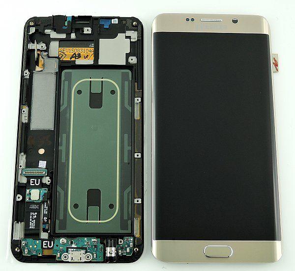 Display cu touchscreen Samsung Galaxy S6 Edge Plus G928f Gold 0